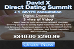 David x Direct Dating Seminar Digital Download Package